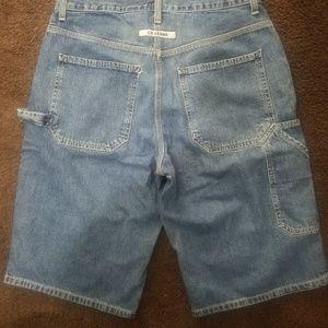 Men vintage Calvin klein denim shorts